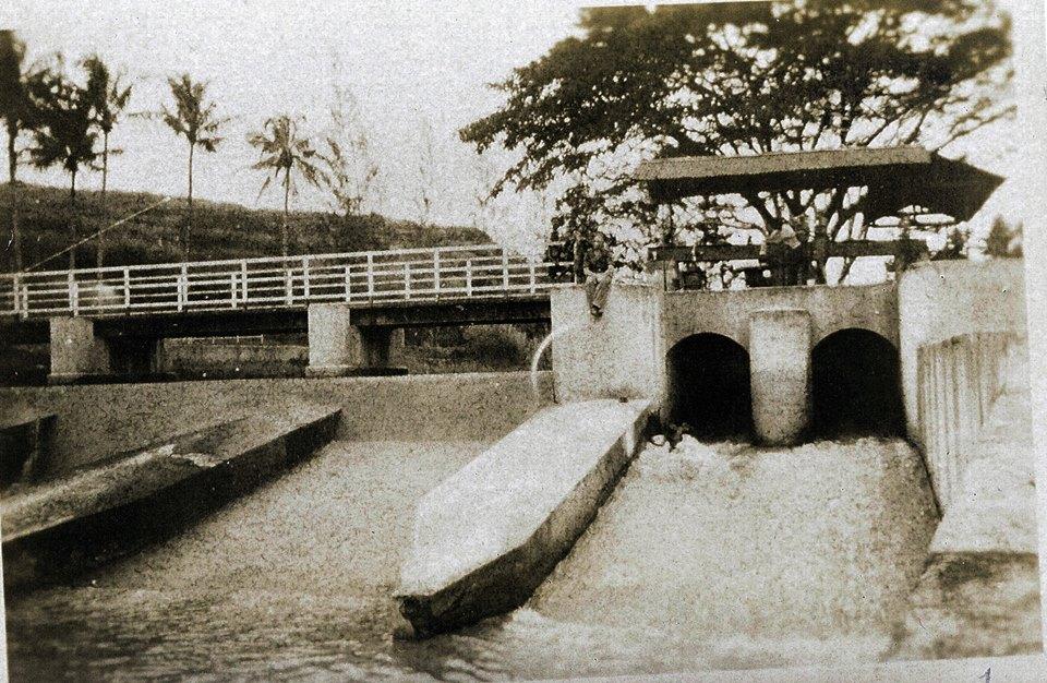 Bendungan Pleret Banjir Kanal Semarang 1946