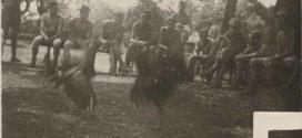 FOTO : Tentara Belanda Sabung Ayam Tahun 1947