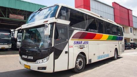 Bus Jakarta Semarang dengan Sinar Jaya Juli 2019