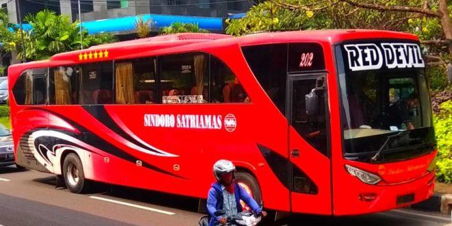 Bus Jakarta Semarang Juli 2019 dengan PO Sindoro Satriamas