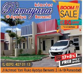 Jual Rumah dan Perumahan di Semarang dan Sekitarnya Agustus 2019