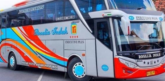 Bus Rosalia Indah Semarang Jakarta Cijantung Juli 2019