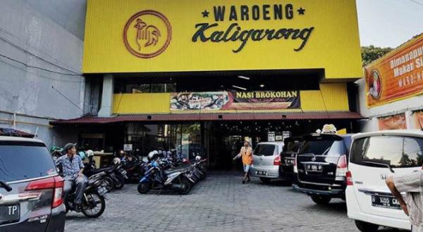 Warungan Semarang : Bebek Sambal Mangga Muda Ala Waroeng Kaligarong
