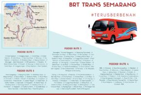 Rute Feeder Trans semarang 2020 Adalah