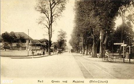 Perempatan CPM Magelang (Jalan A Yani) Magelang Tempo Doeloe