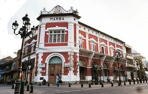 KOTA LAMA SEAMARANG : Gedung Marba Identik Saudagar Kaya Yaman bernama Marta Bardjunet